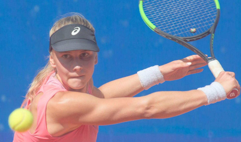2f20ada6986 Sofia Tšeklistova / Foto: Igor Pissarev. Sestroretski juunioride ITF-i 5.  kategooria turniiril ...